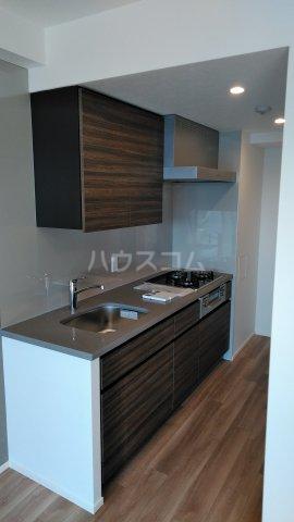 ザ・パークハビオ駒込 704号室のキッチン