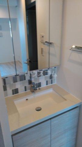 ザ・パークハビオ駒込 801号室の洗面所