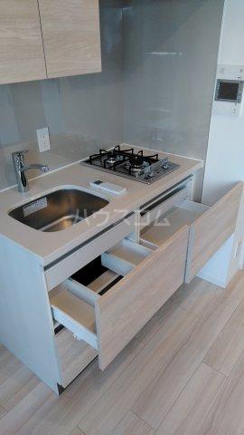 ザ・パークハビオ駒込 801号室のキッチン