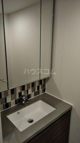 ザ・パークハビオ駒込 804号室の洗面所