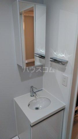 ブライトユー 202号室の洗面所