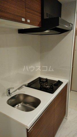 リアンシエルブルー田端 701号室のキッチン