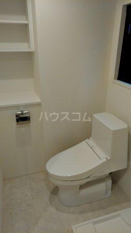 リアンシエルブルー田端 701号室のトイレ