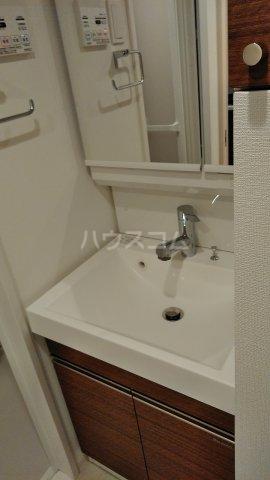 リアンシエルブルー田端 803号室の洗面所