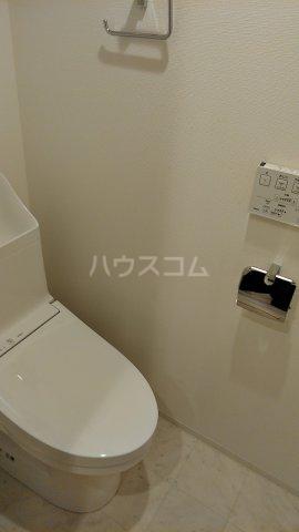 リアンシエルブルー田端 803号室のトイレ