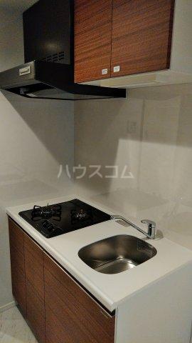 リアンシエルブルー田端 1102号室のキッチン