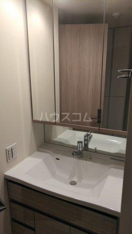ザ・レジデンス駒込染井 502号室の洗面所