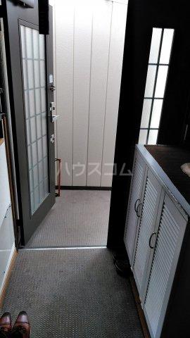 大橋荘 7号室の玄関