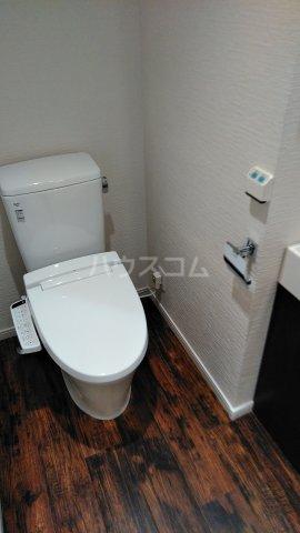 キャスバルクオーレ田端 402号室のトイレ