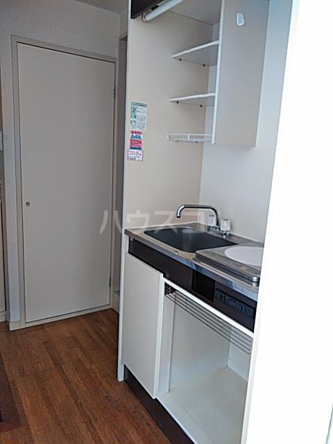 ホワイトシティ 402号室のキッチン