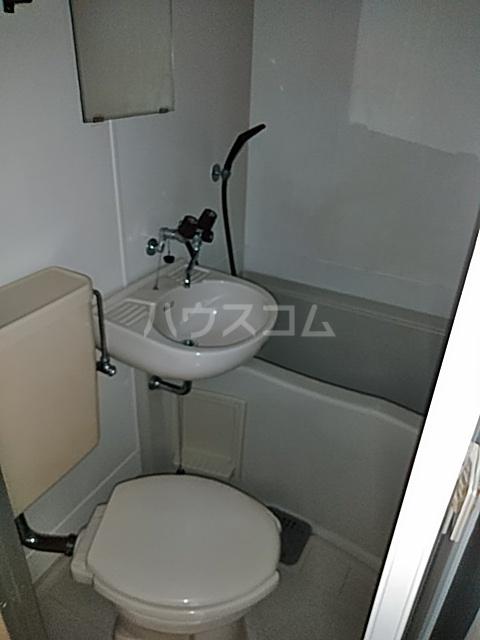 ホワイトシティ 402号室のトイレ