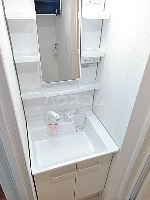 ブラウンハイツ 102号室の洗面所