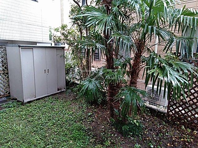 グラン・パレ西綾瀬 102号室の庭