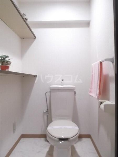 K-2レジデンス 501号室のトイレ