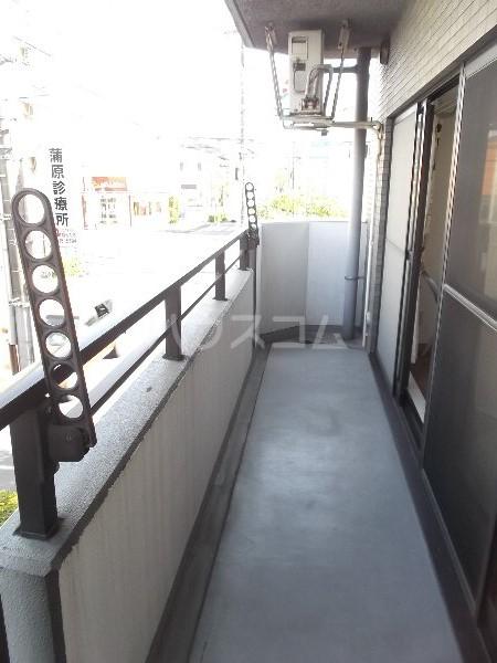 K-2レジデンス 501号室のバルコニー