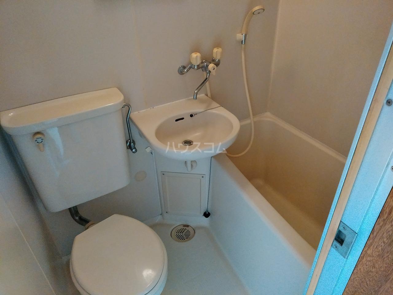 ヴィラ・コート大岡山 401号室の洗面所