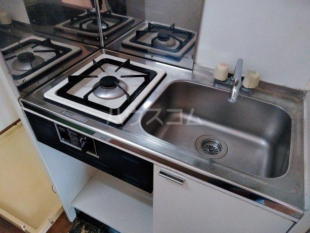 ヴィラ・コート大岡山 401号室のキッチン