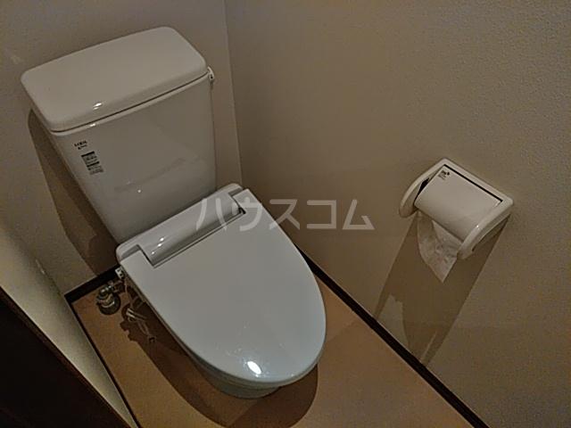 Solo大岡山 202号室のトイレ