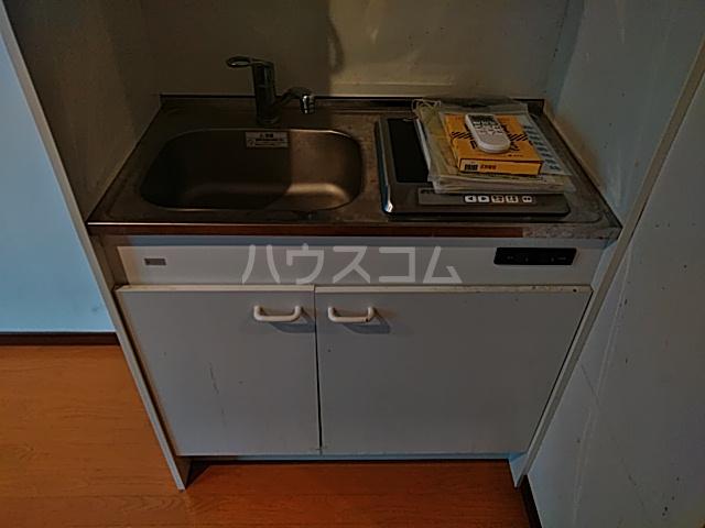 Solo大岡山 202号室のキッチン