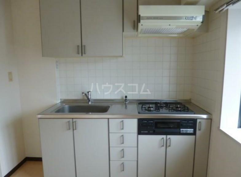 グランレイム目黒 401号室のキッチン
