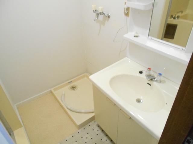 シュヴレット 203号室の洗面所