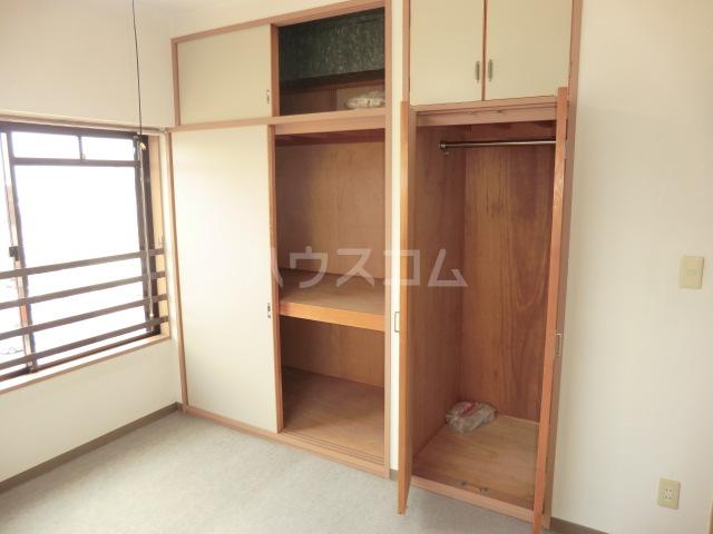 山星マンション 601号室の収納