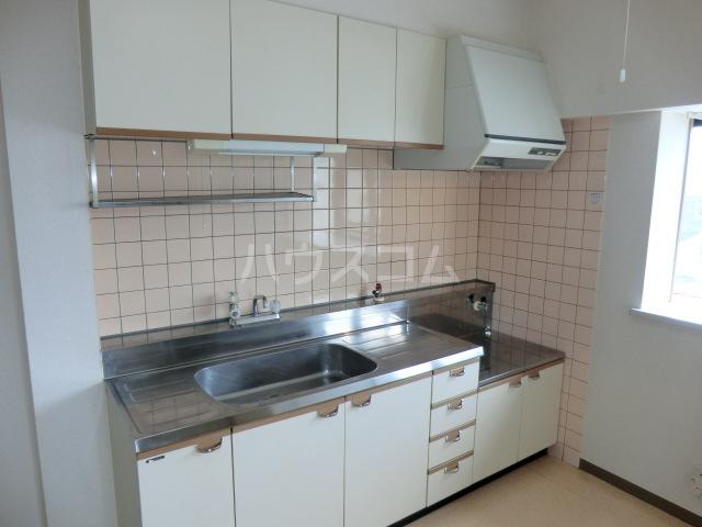 山星マンション 601号室のキッチン
