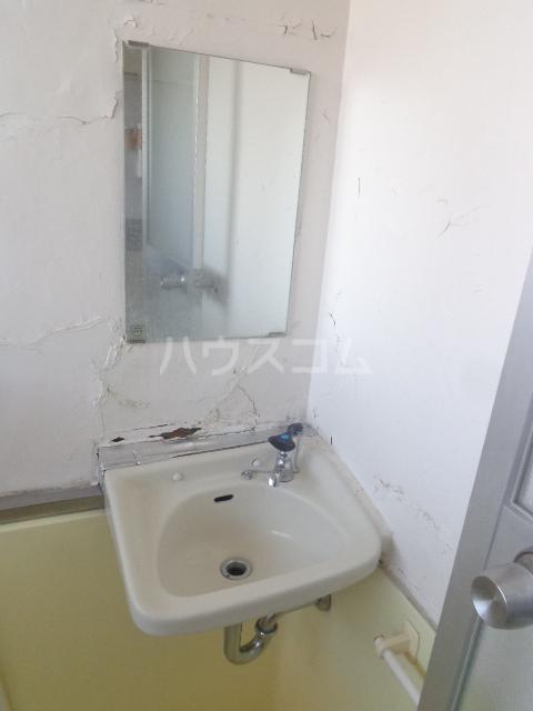 ホワイトマンション 306号室の洗面所