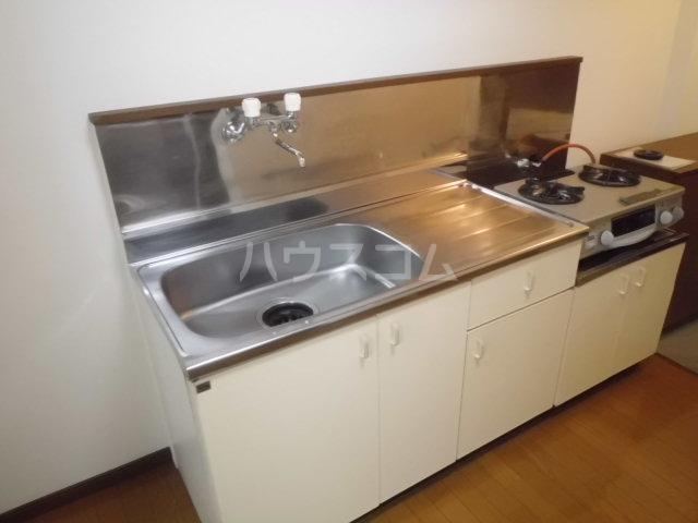 メゾンセンチュリーⅡ 1-B号室のキッチン