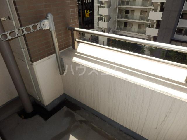 ハートスクエア長建 406号室のバルコニー