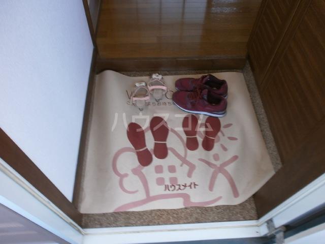 ビューパレス藤井 202号室の玄関