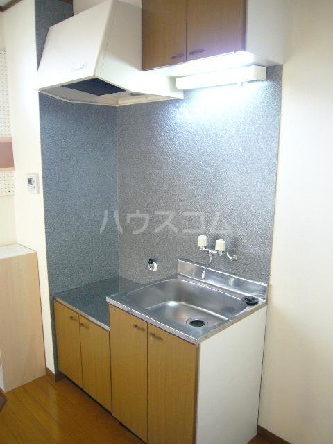 シティーハイツ サイネリアA棟 107号室のキッチン