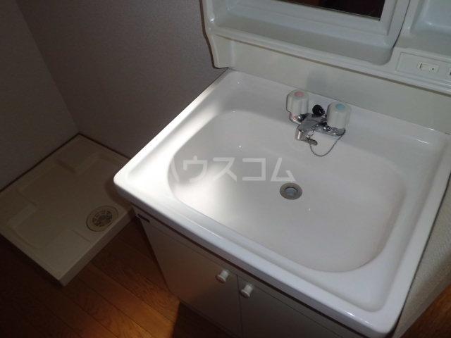 Y`sメゾネットAの洗面所
