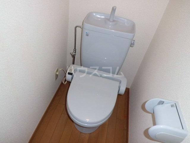 Y`sメゾネットAのトイレ
