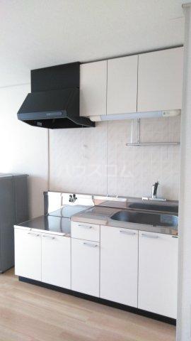 ハイツ理歩B 202号室のキッチン