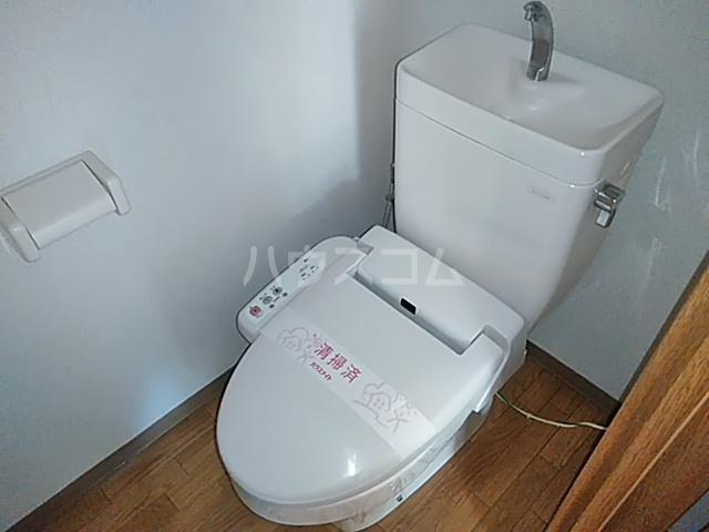 アメージングエステートA 101号室のトイレ