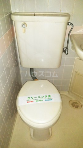 あさひレジデンス高崎鞘町 609号室のトイレ