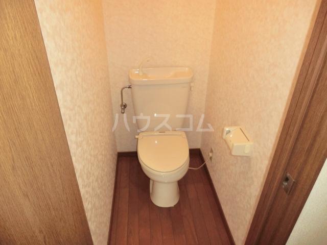 マインプラッツⅠ 212号室のトイレ