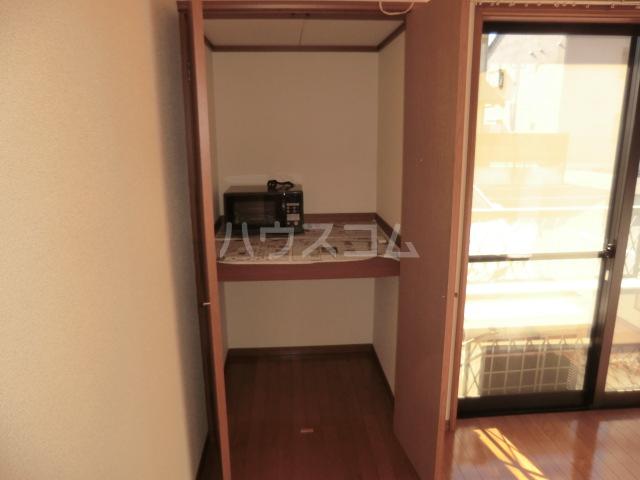 マインプラッツⅠ 212号室の収納