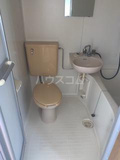 KIYAコーポ 202号室のトイレ