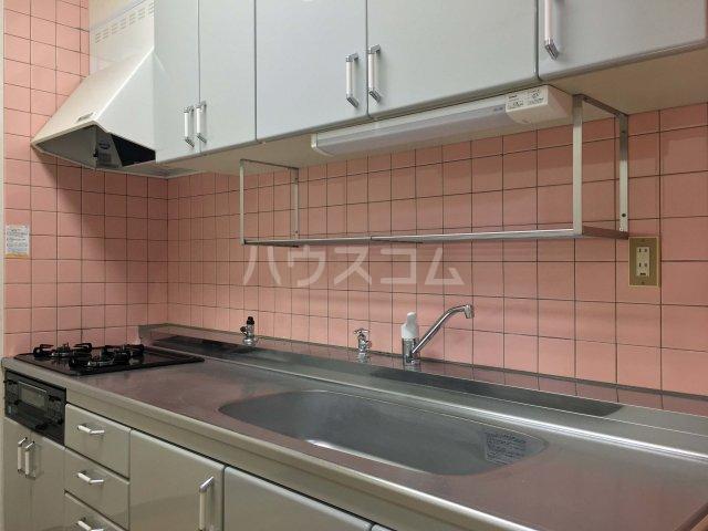 Mハイツ 202号室のキッチン