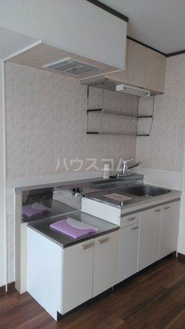 メゾン・ド・ケイ 101号室のキッチン
