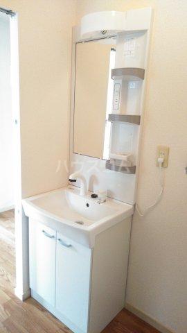 ハイツ城趾公園 102号室の洗面所