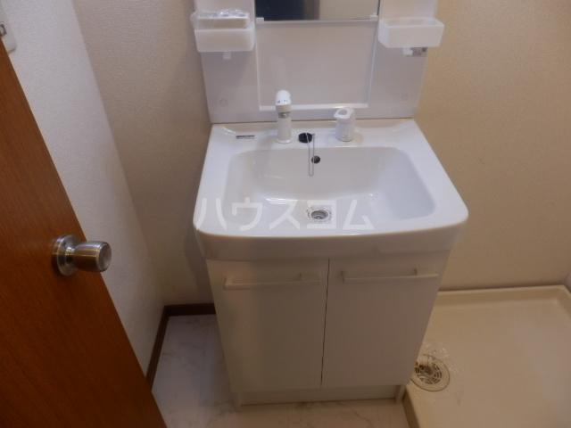 T.Kヒルズ八千代 203号室の洗面所