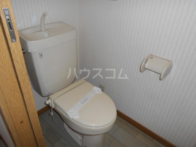 コーポミルクール 202号室のトイレ