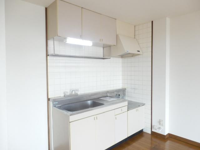 ラ・ディファンス・ミキ 208号室のキッチン