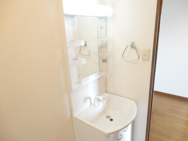 ラ・ディファンス・ミキ 208号室の洗面所