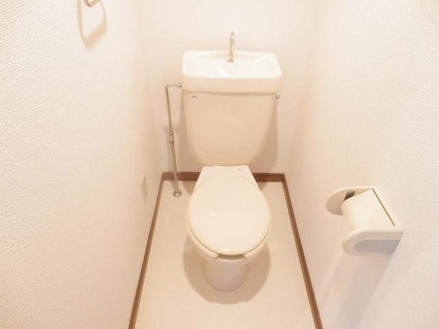 ラ・ディファンス・ミキ 208号室のトイレ