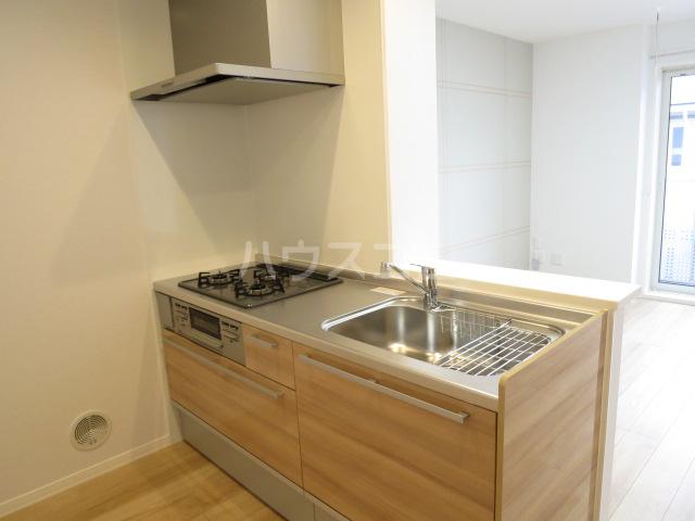 la fortuna 201号室のキッチン