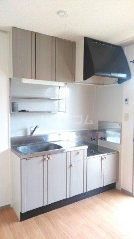ハイツ・ヴィオラ 201号室のキッチン